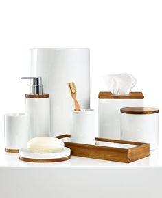 Hotel Collection Century Bath Accessories Collection - Bathroom Accessories - Bed & Bath - Macy's