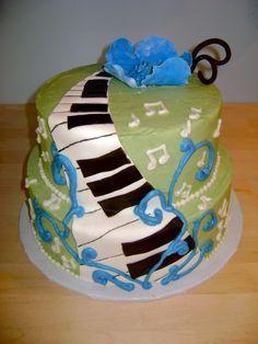 Zumba Theme Birthday Cake Cakes