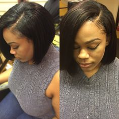 Sew in with leave out Best Human Hair Wigs, Wig Hairstyles, Natural Hair Styles, Sew, Photo And Video, Instagram, Fashion, Moda, Fashion Styles
