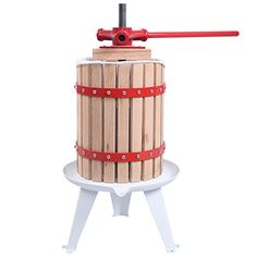 Costzon 1.6 Gallon Fruit Wine Press Cider Apple Grape Cru...