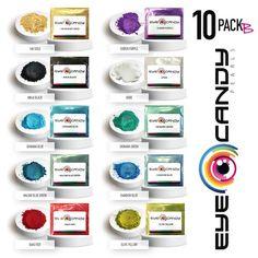 "Eye Candy Mica Pigment ""Okinawa Blue"" MultipurposeEpoxyResinArt 50gr"