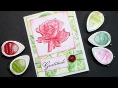 Stamp School #2 How to Ink a Stamp | Thefrugalcrafter's Weblog