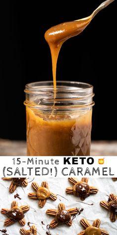(15 Minute!) Low Carb & Keto Caramel Sauce #keto #lowcarb #ketodiet #ketorecipes #caramel