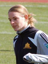 Nia Künzer - erzielte 2003 das WM-Siegtor