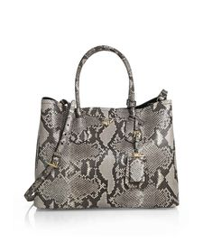 Prada Python Medium Double Bag Roccia                   $328.00