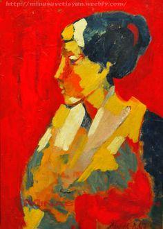 Portrait of a Woman. 1967 Minas Avetisyan