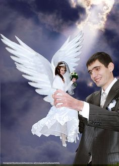 Russian wedding photoshop disasters ...