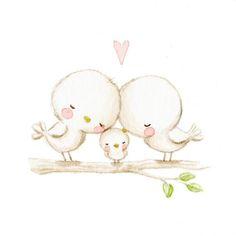 La familia es lo más importante, quereos mucho!! ❤ #childrensillustration #birds #watercolor #watercolorpainting #illustration #watercolour #myartwork #whimsyillos #myart #birdie #aidazamora #heart #watercolour_gallery #acuarela #childrensbook #art #drawing #handpainted #illustratenow #childrenillustration #ilustracioninfantil #cuteanimals #draw #cute #artsy #instaart #art_we_inspire #artoftheday #childrenswritersguild #illustrationartists