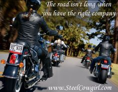 The road isn't long when you have the right company
