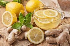 Chá de gengibre e limão para desintoxicar o fígado