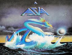 """Asia self-titled ex- Yes Progressive Rock, Arena Rock 12"""" LP - Vinyl Records Collector's Information & Price Guide"""