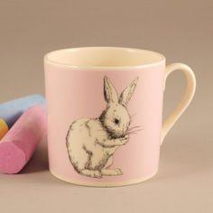 bunny baby pink mug Love this one