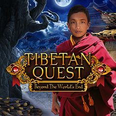 Will you find the courage to travel to mysterious Tibet? Will you face the dangers lurking in Shangri-La to save your family beyond the world's end? #hiddenobject #game #videogame #casual #wildtangent #tibetanquest