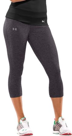Women's Active Workout Capri Leggings Shorts Stretchy Tights(Blue ...