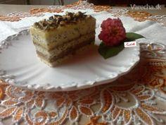 Medovo-makové krémové rezy (fotorecept)