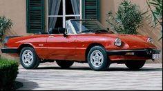 Der Spider von Alfa Romeo ist beliebt, besonders die dritte Generation. (Quelle: Hersteller)