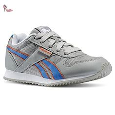 Reebok - Royal CL Jogger - V63290 - Couleur: Bleu-Gris-Orange - Pointure: 27.0 - Chaussures reebok (*Partner-Link)