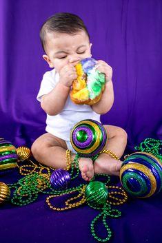 Mardi Gras Pictures, Blue Birthday, Baby Photos, Photo Shoot, Baby Kids, Creative Ideas, Photo Ideas, Photoshoot, Diy Creative Ideas
