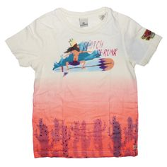 Scotch & Soda Shrunk special edition tee shirt w/ surf artwork - TrendyBrandyKids - European trendy clothes for boys and girls. Catimini, Desigual, Deux par Deux, Diesel, Halabaloo, Ikks, Jean Bourget, Marese, Me Too, Mim Pi, Pom Pom Casual.