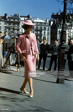 Chanel in Paris, France in 1960