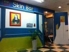 repainted  2011 skincare shop