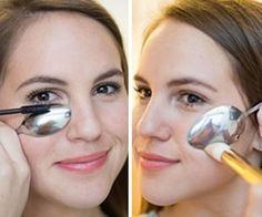 12 Brilliant Beauty Hacks You Can Do with a Spoon