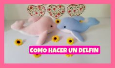 COMO HACER UN DELFÍN   ¡¡¡ MOLDES GRATIS !!! / HOW TO MAKE A DOLPHIN  ¡¡...