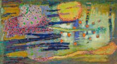 Cosmic Junction | oil on canvas | 30 x 55"