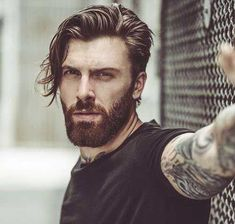 2017 Trend Men's Hairstyles You Should See # Men's Hairstyles # Best # Fa … - Best New Hair Styles Mens Hairstyles 2016, Mens Medium Length Hairstyles, Cool Hairstyles For Men, Cool Haircuts, Haircuts For Men, Men's Hairstyles, Short Haircuts, Mens Facial, Facial Hair