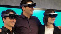 HoloLens de Microsoft, révolution… ou pas? Toujours est-il que la solution proposé est plus proche de la RA que de l'expérience holographique.... A suivre !
