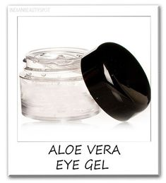 DIY 10 homemade natural aloe vera products - Aloe is often used under the eyes as a treatment for dryness, dark circles and wrinkles, and it contains essential vitamins and minerals that help to fight off free radicals that may cause wrinkling.