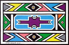 ESTHER Mahlangu 2003: Tuesday 4 November 18h30 till 22 November 2003 - UCT Irma Stern Museum, Cape Town