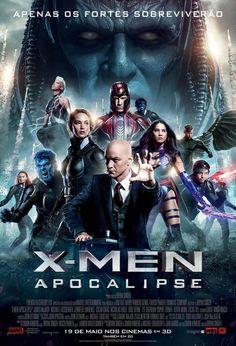 X-Men: Apocalipse - Revelado pôster IMAX do filme! - Legião dos Heróis