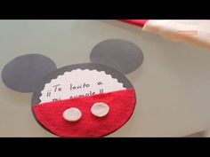 Invitaciones de Mickey Mouse - YouTube