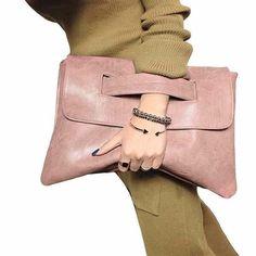Fashion Envelope clutch bag women crossbody bag party evening vintage women leather #handbags messenger bag ladies Clutches #Designerhandbags