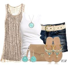 """""""Warmer Weather"""" by colierollers on Polyvore"""