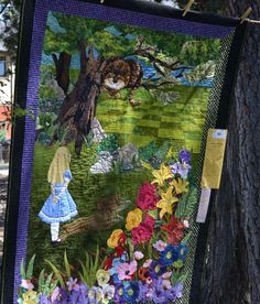 Alice in Wonderland quilt as seen at Sisters Oregon 2011 quilt show