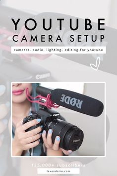 YouTube Camera Setup   Filming Setup   Camera Gear   YouTube Equipment   YouTuber video editing   lighting   audio   advice for content creators   how to start a youtube channel   essential gear   advice for beginner youtubers #cameraequipmentforbeginners