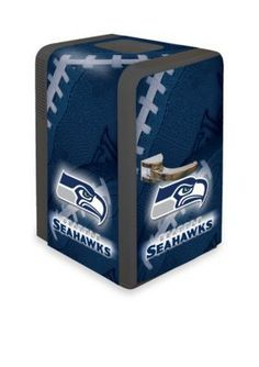 Boelter Navy NFL Seahawks Portable Party Refrigerator