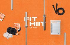 FIT HIIT GymSpace on Behance Hiit, Branding, Fitness, Behance, Brand Management, Identity Branding