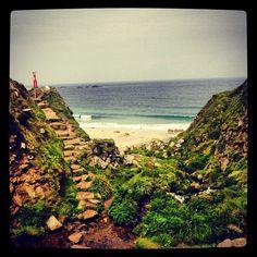 A little bit of Cornish heaven. Devon, Cornwall, Places Ive Been, Bliss, Remote, To Go, Coast, Sea, Landscape