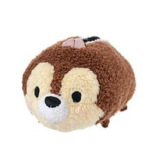 Disney Chip Tsum Tsum Mini Soft Toy   Disney StoreFree Delivery - This Chip Tsum Tsum mini soft toy is colourful and stackable. This cute concept from Japan offers a quirky version of the classic Disney chipmunk, with 3D details and a squeezy bean bag tummy.