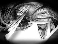 """CHOI & STEINBUCH, """"Visceral Painterly: Shadows Refine Form."""" Interior."""