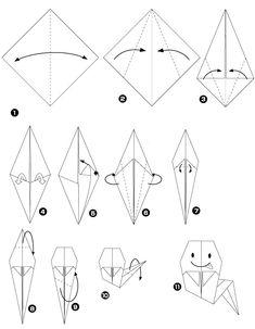 DIY Halloween : Les P'tits fantômes - Origami - Maman à Tout Faire