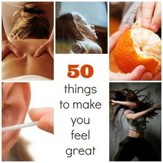 50 things to make you feel great | BabyCentre Blog