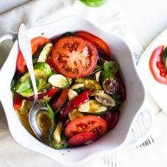 Warm Zucchini Salad  #21dsd #salad #veggies