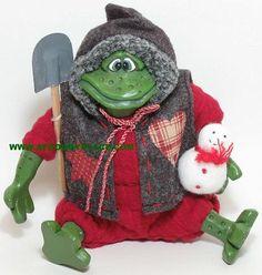 keep warm little froggy