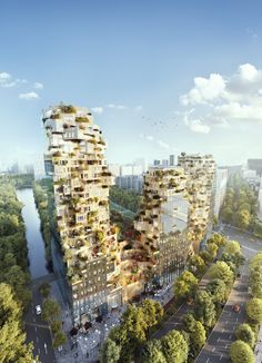"""Gallery of MVRDV Breaks Ground on Mixed-Use """"Valley"""" to Inject Life into Amsterdam's Business District - 1"""