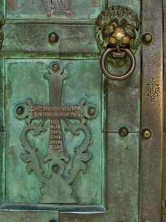 Amalfi Cathedral / The bronze doors are from Constantinople and date from the 11th century