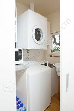 Laundry 152 by Sally Steer Design. Sally, Washing Machine, Laundry, Home Appliances, Design, Laundry Room, House Appliances, Appliances